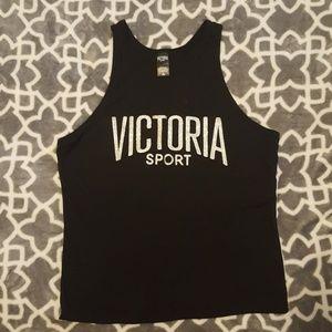 Victoria's Secret sport gym tank black medium